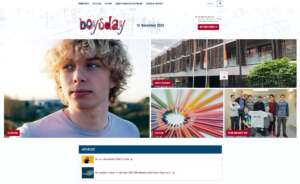 Website - www.boysday.at